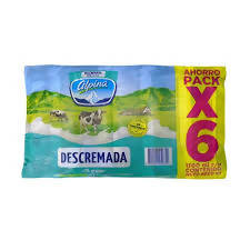 Leche Descremada Alpina Six Pack