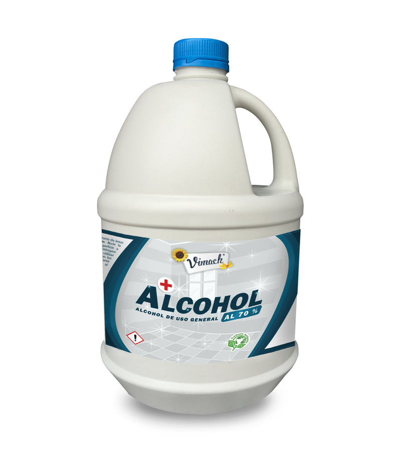 Alcohol de uso general 70% envase por 3,8L Galon