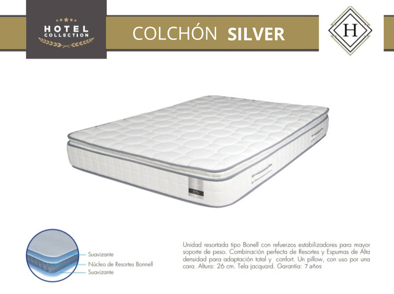 COLCHON SILVER HOTEL COLLECTION 26CMS