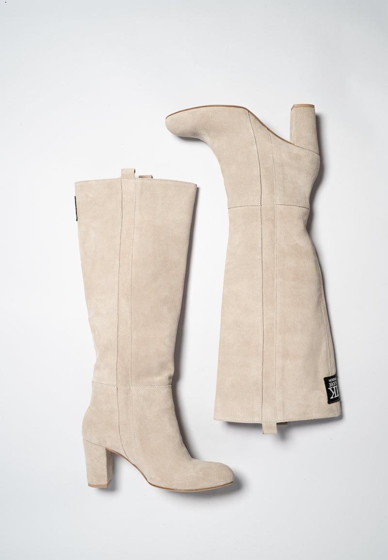 'CLASSIC GRAY' KNEE HIGH BOOT