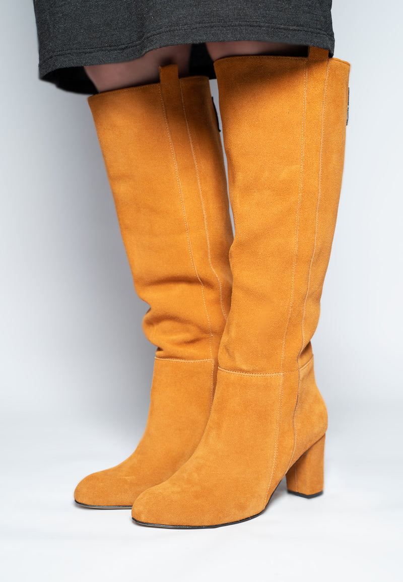 'TANGERINE' KNEE HIGH BOOT