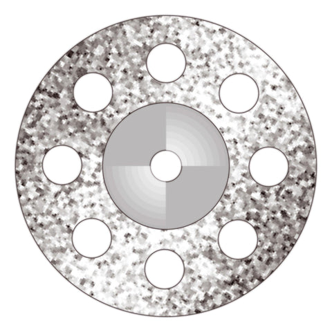 Perforated Disk (D190P3) - Dental Burs