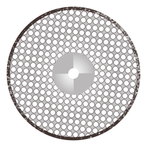 Perforated Disk (D220P5) - Dental Burs