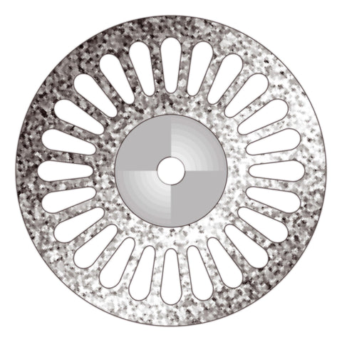 Perforated Disk (D220P4) - Dental Burs