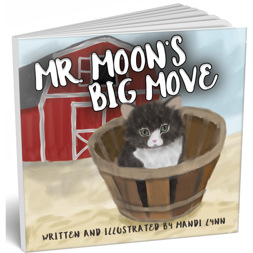 Mr. Moon's Big Move - Paperback Children's Book