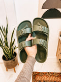 Lennie Sandals - Olive