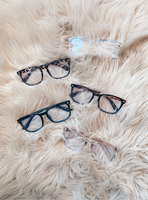 See Clearly Now Glasses - Multiple Color Options