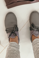 Grey Sneaks- Final Sale