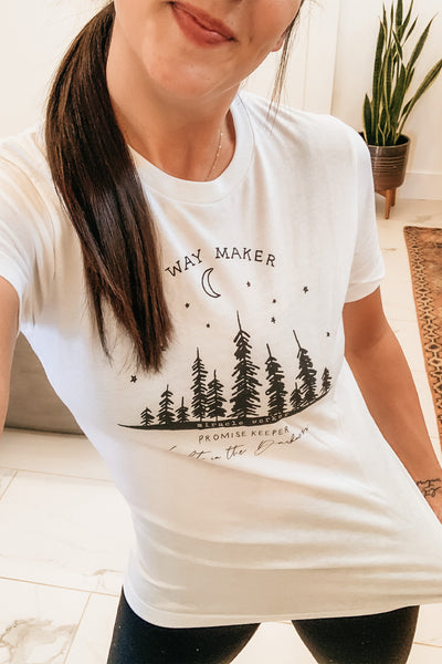 Way Maker Tee - White