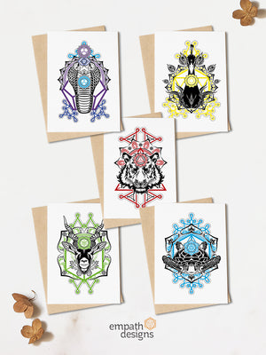 Greeting Cards Bundle - Animalis Collection