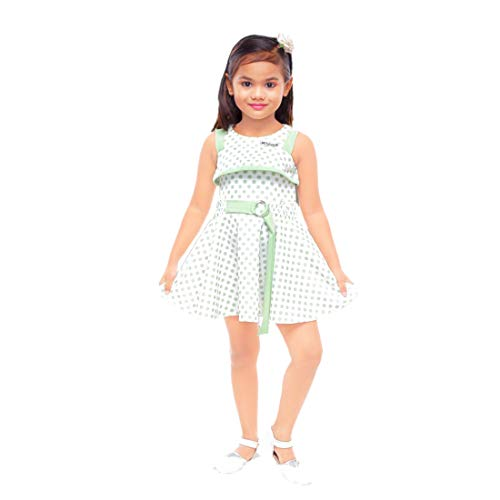Kids Mandi Floral Kid Girls Dresses, Plazo for Summer Wear, Casual Wear