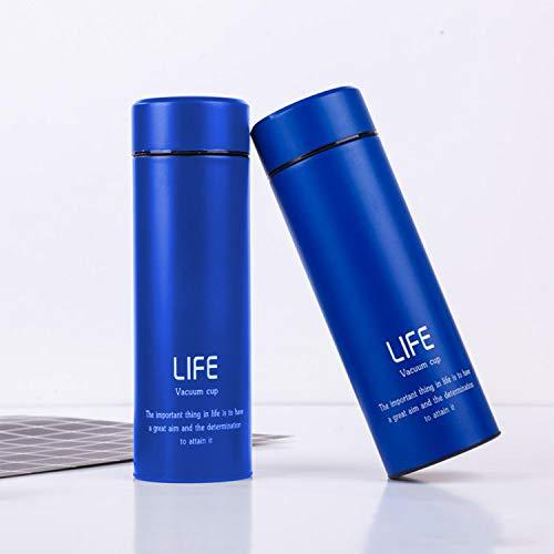 Double Wall Vacuum Insulated Stainless Steel Water Bottle Vacuum Flask BPA Free Thermos Travel Mug Perfect for Indoor Office Outdoor Sports - Hot and Cold for 12 Hours