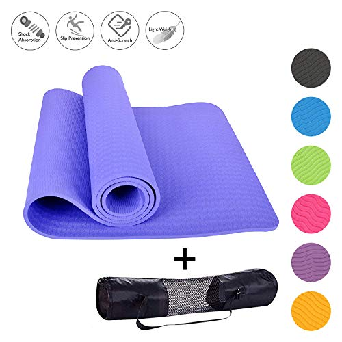 Workout Yoga Mat with Cover Bag