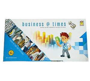 Kids Mandi Techno Business Times Family Fun Board Game (Multi Color)