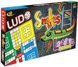 Kids Mandi Ludo Snake and Ladder Deluxe Board Game