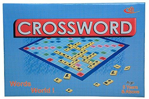 Kids Mandi Crossword Board Game
