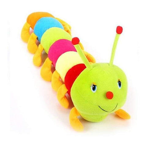 Kids Mandi Cute Sitting Catterpillar Stuffed Soft Plush Toy Kids Birthday (18 Inch)