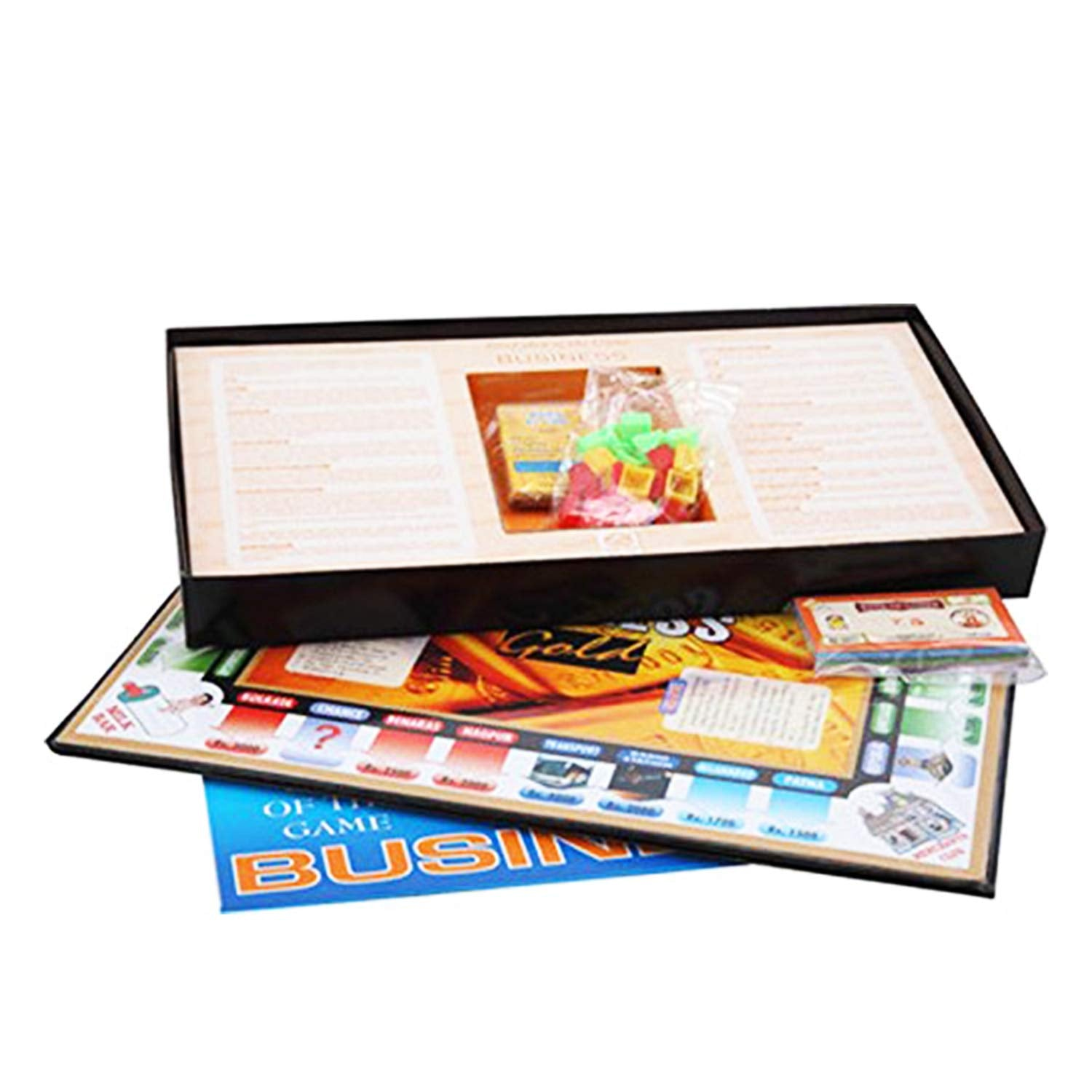 Kids Mandi Techno Business Gold Board Game
