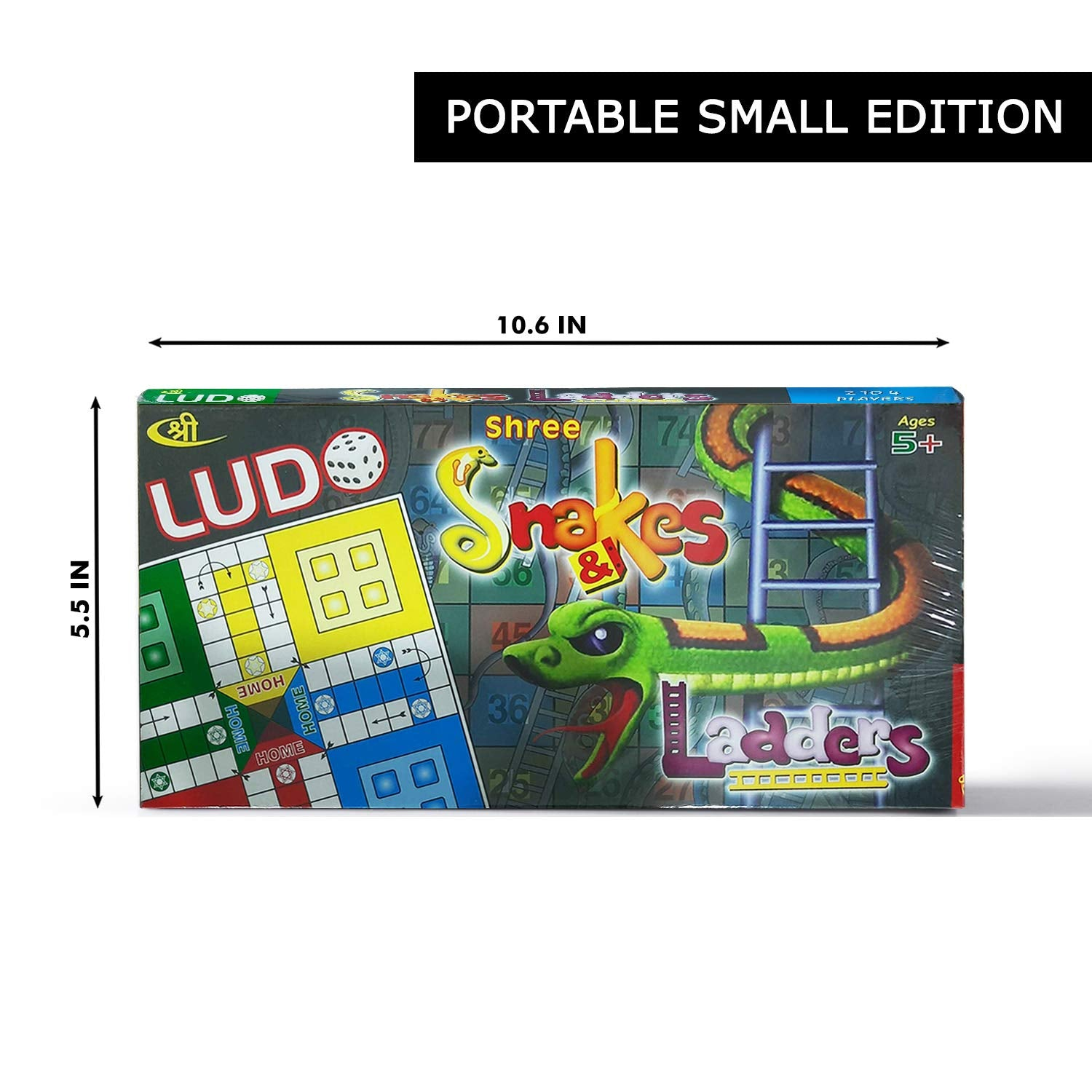 Kids Mandi Ludo and Snake and Ladder Board Game