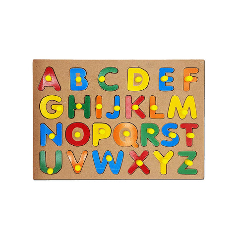 Kids Mandi Wooden Puzzle with Knobs