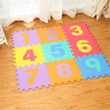 Eva educational Puzzle Mat