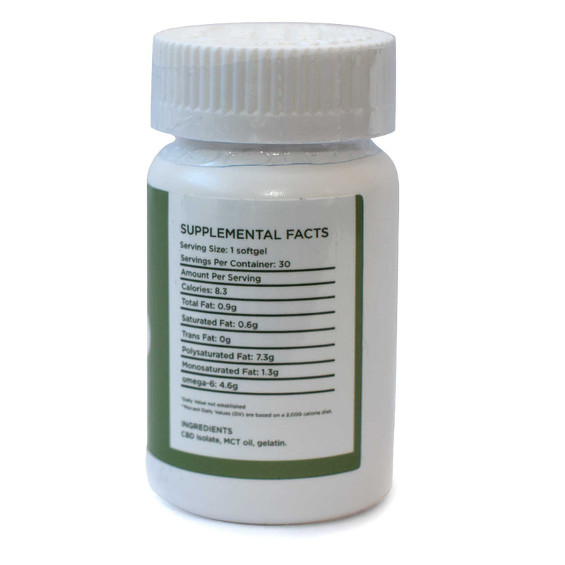 Hemp Full Spectrum Softgel Capsules