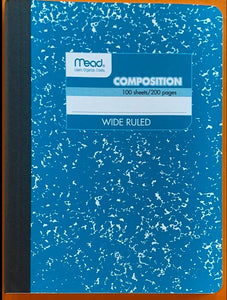 Mead Composition Book / Journal - Write On! Creative Writing Center