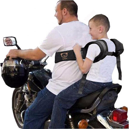 Motorcycle Seat Belt  - Safety Suspenders for Child