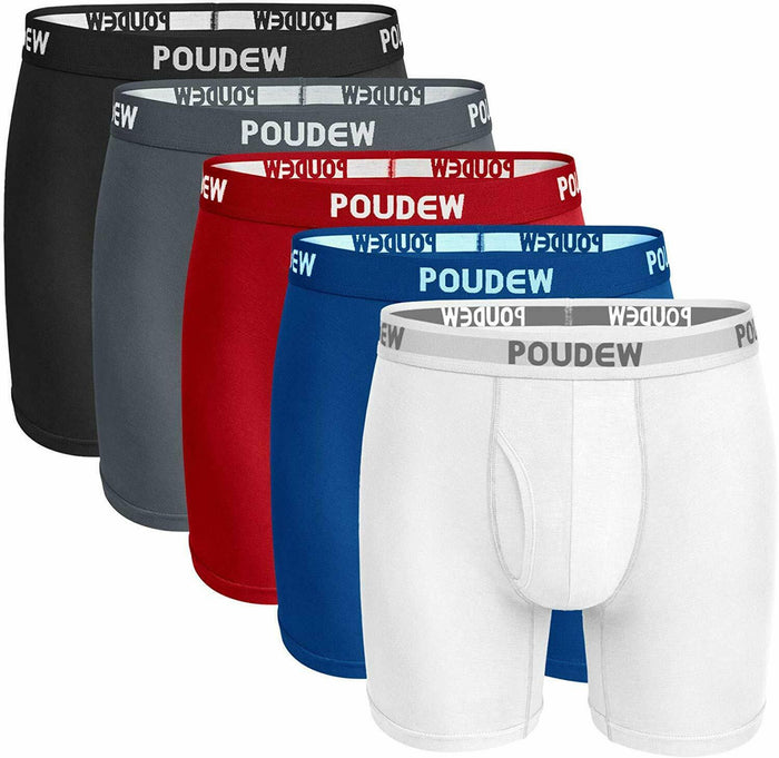 Men's Underwear Soft Viscose Boxer Briefs