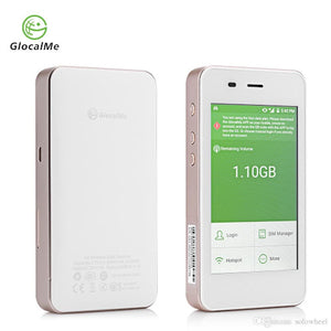 GlocalMe G1611 G3 4G Wireless Data Terminal Worldwide High-speed WiFi Hotspot With the built-in 5350mAh Li-ion battery