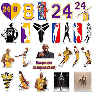 Kobe Mamba Universal Collections Kobe 24 Basketball Decal Sticker Pack