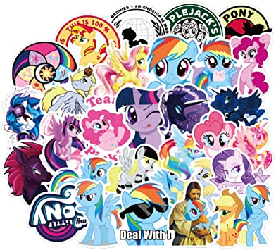 My Little Pony Sticker Pack - 50pcs