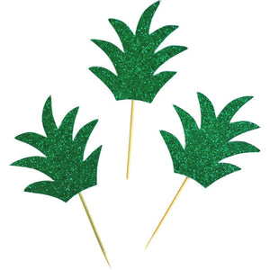 Pineapple Cupcake Toppers - 24