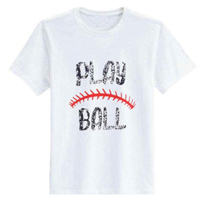 Ladies Play Ball T-Shirt - Medium