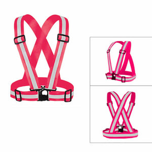 Safety Reflective Vest - Pink