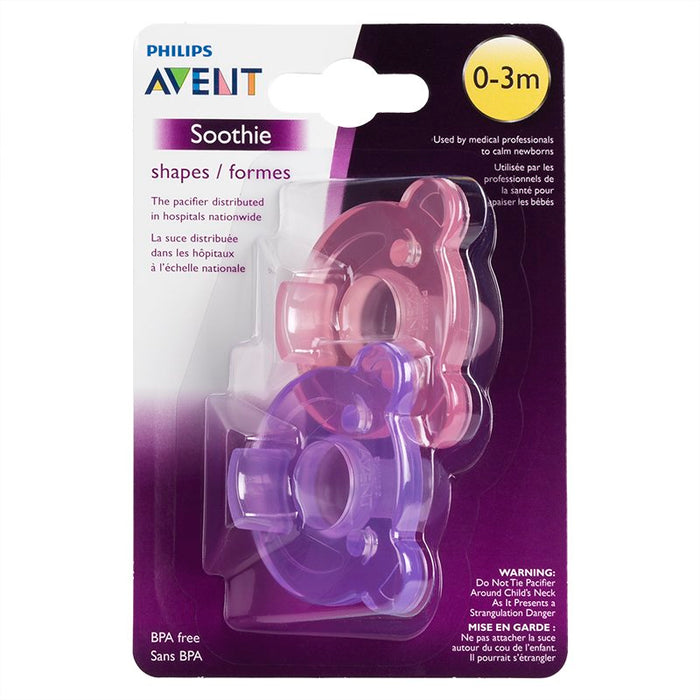 Avent Soothie - 2 Pack - 0-3m