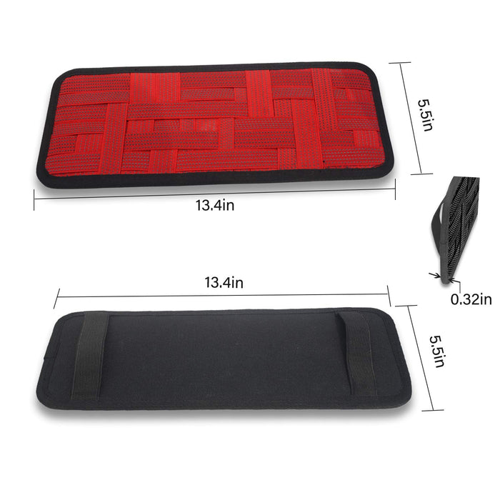 Red Visor Organizer