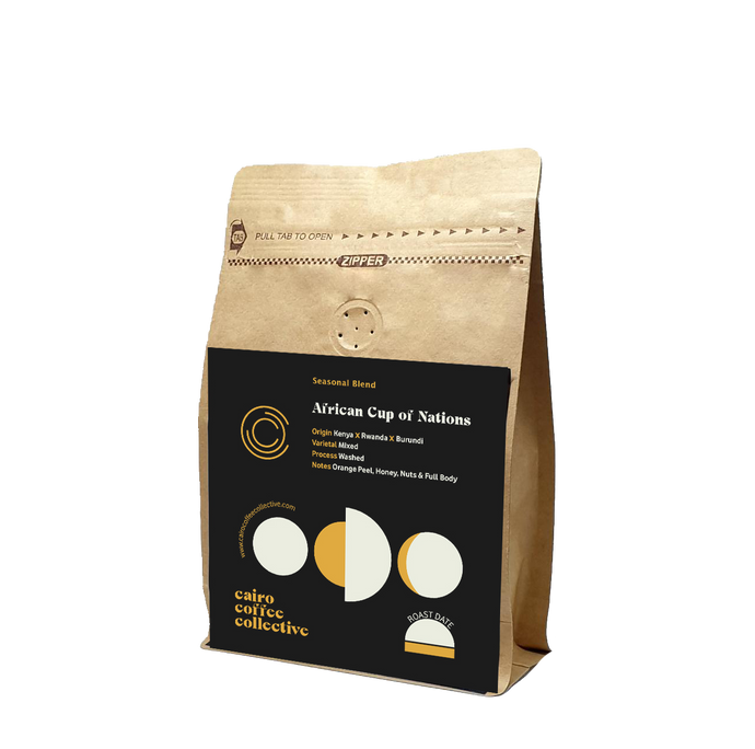 African Cup of Nations Blend - Notes of Orange Peel, Honey & Nuts