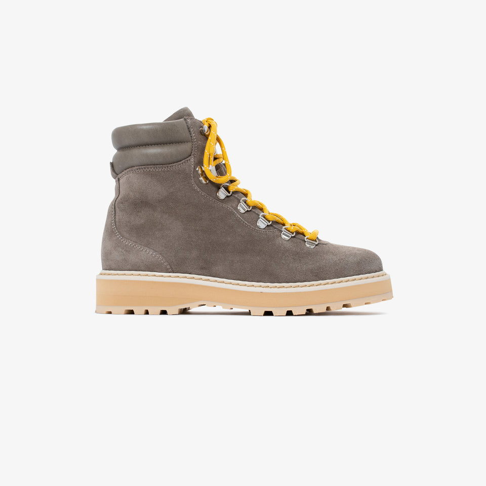 Hiking - Suede / Shearling - Greige - Woman