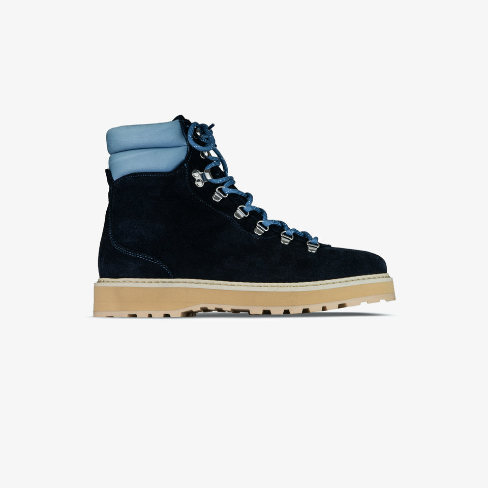 Hiking - Suede / Shearling - Navy Hydrangea - Man