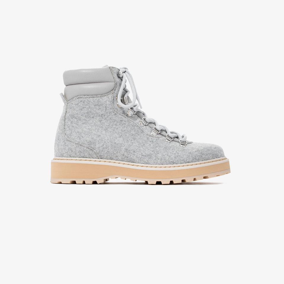 Hiking - Divina Shearling - Light Grey - Woman