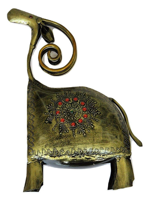 IndicHues Wrought Iron Animal Figurine - IndicHues