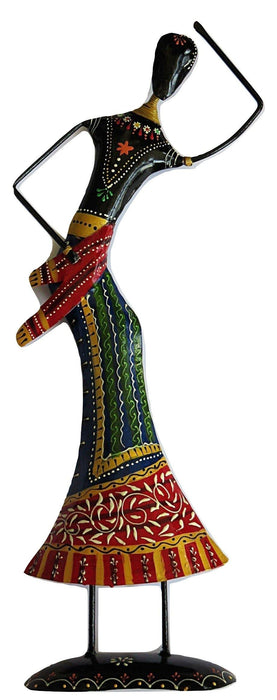 IndicHues Handmade Wrought Iron Large Dancing doll - IndicHues