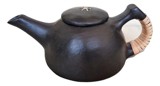 IndicHues Handmade Longpi Black Pottery Kettle from Manipur