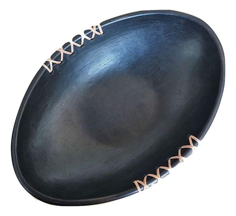 IndicHues Handmade Longpi Black Pottery Stoneware bowl from Manipur