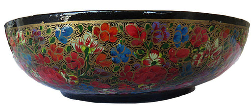 IndicHues Handcrafted Paper Mache Bowl from Kashmir - IndicHues