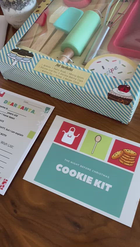 The Night Before Christmas Cookie kit for kids