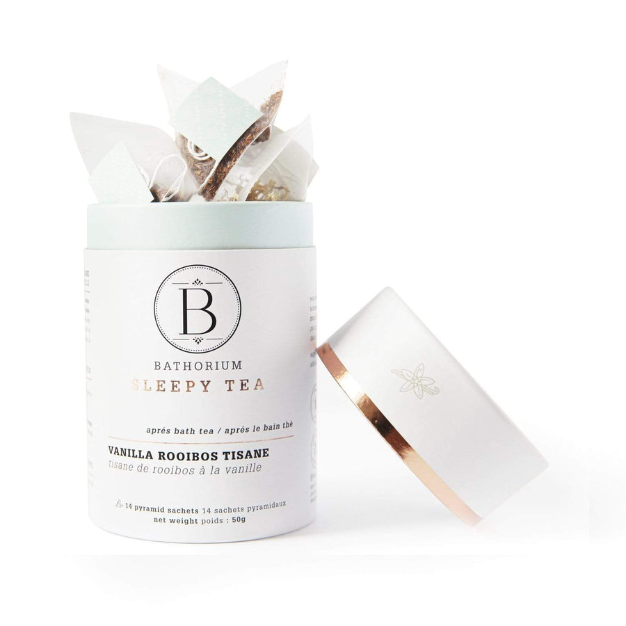 Après Bath Sleepy Time Pyramid Bagged Tea: Vanilla Roobios Tisane