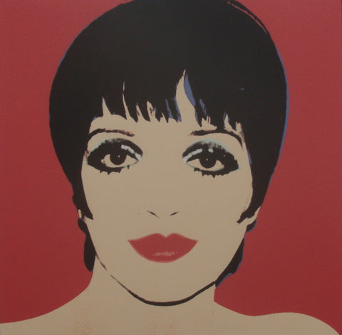 Andy WARHOL Portraits of the 70's lithographs