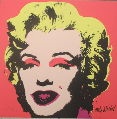 Andy WARHOL Marilyn Monroe lithographs